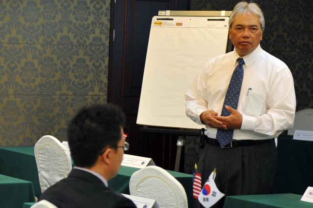 Contracting officials hold international conference in South Korea