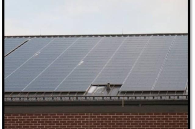 Solar panels at Joint Base McGuire-Dix-Lakehurst