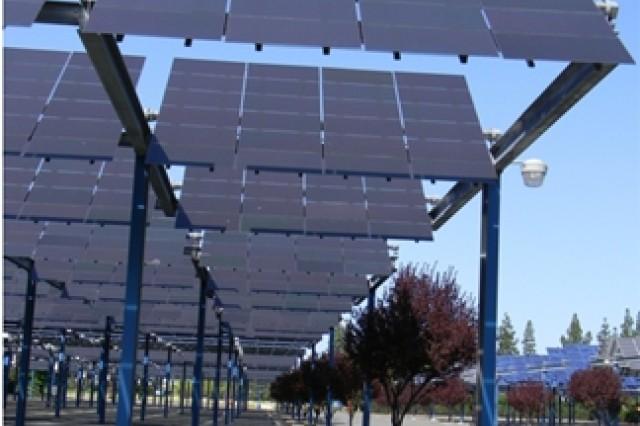 Fort Hunter Liggett solar array