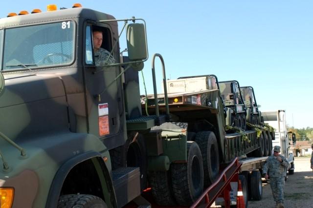 Transporting equipment to Haiti
