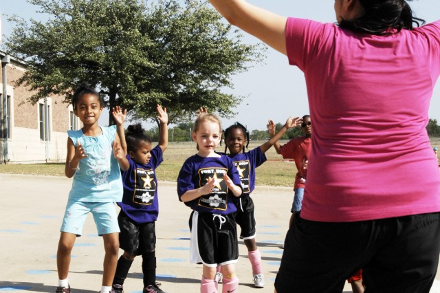Let's Move initiative gets Fort Hood families active