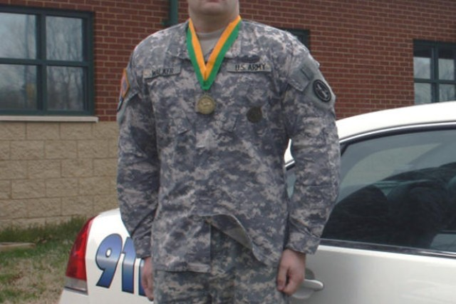 'A cut above': Fort Meade MP honored with prestigious award