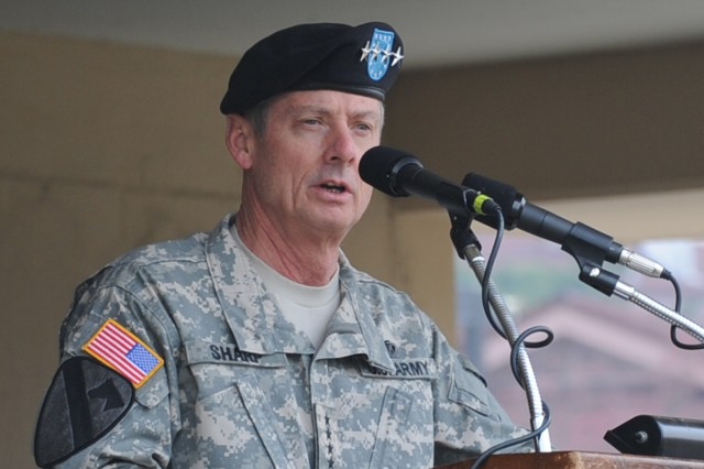 Gen. Walter L. Sharp, commander of United Nations Command, Combined Forces Command and U.S. Forces Korea, said the Republic of Korea-U.S. alliance is ready to defend South Korea.