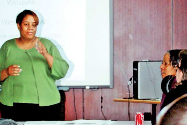 Workshops aid transitioning spouses with employment issues