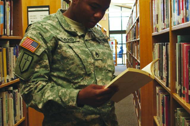 Fort Polk's Allen Memorial Library promotes lifelong learning