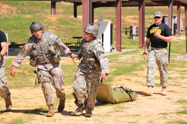2011 Best Ranger Competition Day 2 - Krilling Range
