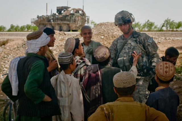 2SCR platoon gains trust and confidence of Afghan people