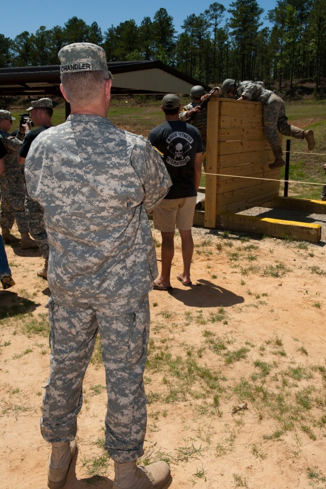 SMA Chandler visits Best Ranger Competition