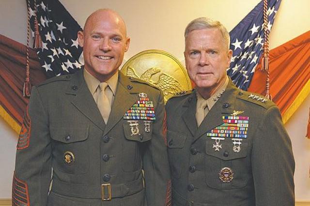 Commandant announces next sergeant major of Marines