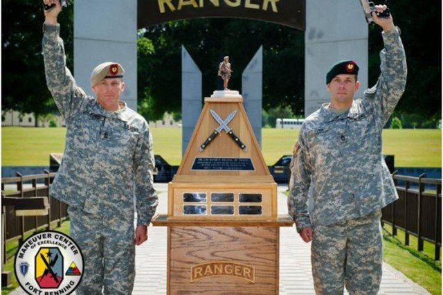 "The ""super team"" of Sgt. Maj. Walter Zajkowski and Master Sgt. Eric Turk are the winners of the 2011 Best Ranger Competition.  Zajkowski, a 2007 Best Ranger Competition champion, and Turk, who won last year, are the first repeat winners in more than two decades. Turk is only the second competitor in Best Ranger Competition history to win the competition back to back."