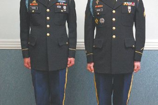Old Guard Soldiers win boards