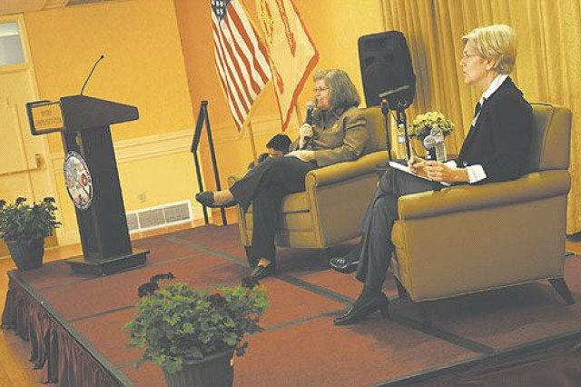 New consumer agency holds listening session at Myer-Henderson Hall club