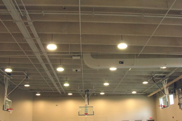 There is a interior recreation gym at the Joint Regional Correctional Facility at Fort Leavenworth, Kan.