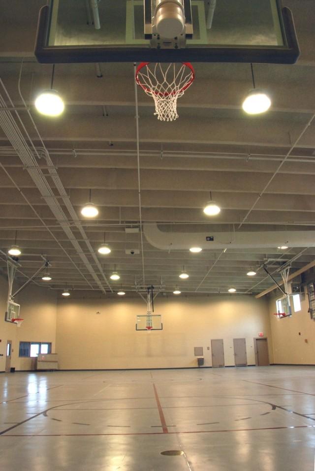 Interior recreation gym