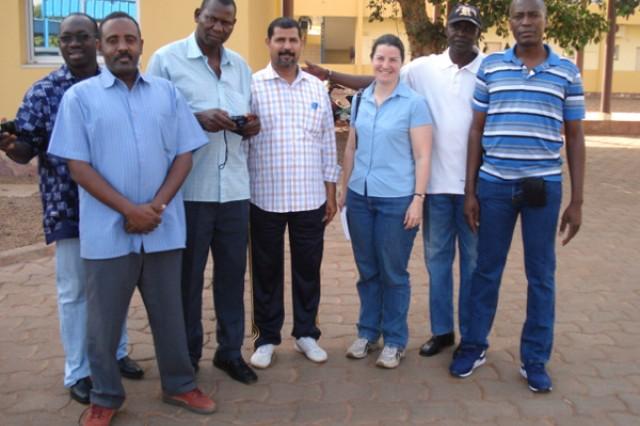 Intel course, Bamako, Mali