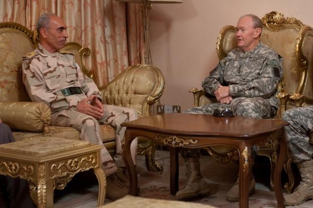 Iraqi Gen. Babakir, Chief of Staff of the Iraqi Joint Headquarters