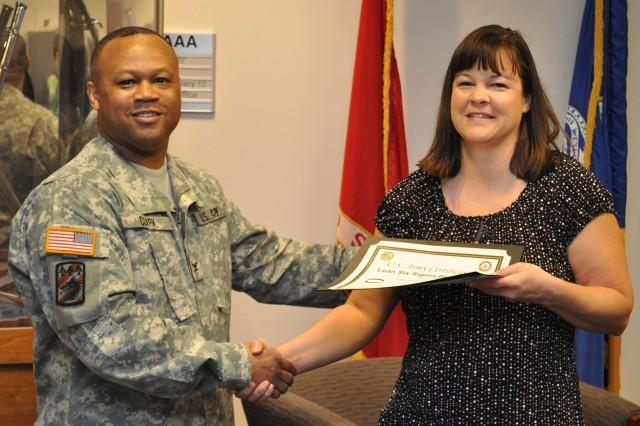 CAAA employee receives LSS certificate