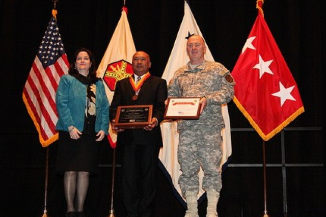 The Army Environmental Command awardee was Pratya Siriwat, operations officer.