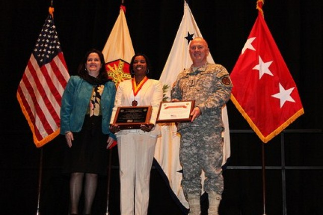 The Family, Morale, Welfare and Recreation Command awardee was Shaunya Murrill, chief of outreach and strategic integration division.