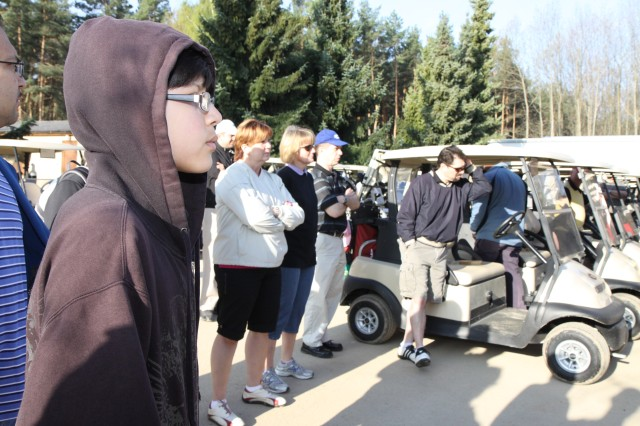 Student golfers from several Department of Defense Dependent Schools-Europe schools participated in the tournament to kick off their spring break. The tournament raised approximately $3,000 for BBFC.