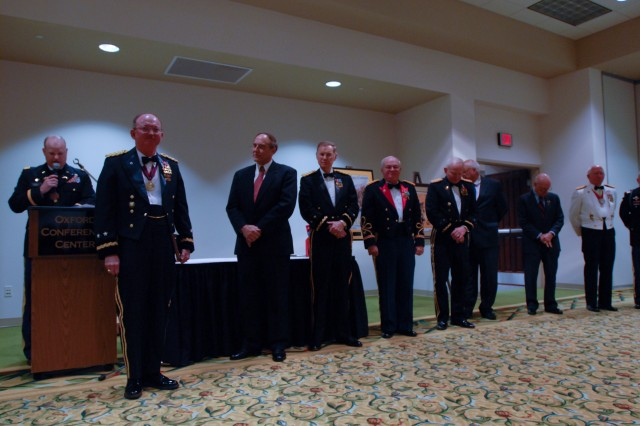 Maj. Gen. William D. Razz Waff, commanding general of the Army Reserve's 99th Regional Support Command, became the 58th member of the University of Mississippi's Army Reserve Officers' Training Corps Hall of Fame April 8 during a ceremony held at the Oxford Convention Center in Oxford, Miss.