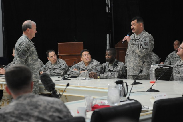 First stop: 37th Chief of Staff of the Army visits troops in Iraq