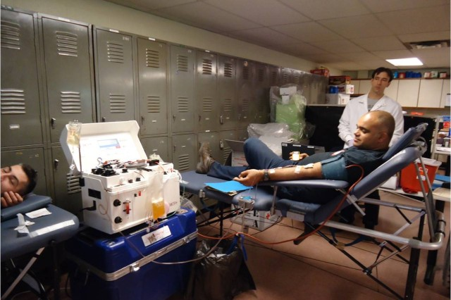 Army Maintenance Support Activity host first blood drive