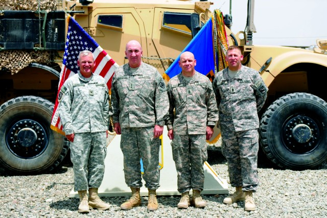 LT. Gen. Michael Barbero visits Spin Boldak, Afghanistan