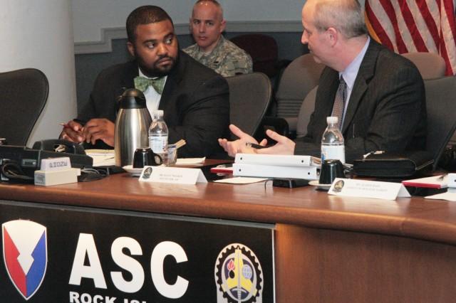 Iowa Staffer visits ASC