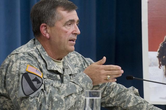 Gen. Chiarelli speaking