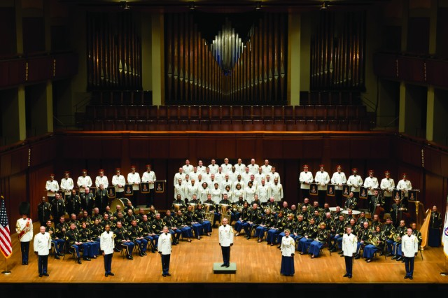 """The U.S. Army Band """"Pershing's Own"""" will perform with the People's Liberation Army Band in a string of joint concerts throughout May 2011."""