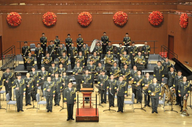 """The People's Liberation Army Band will perform with The U.S. Army Band """"Pershing's Own"""" in a string of joint concerts throughout May 2011, during its first visit to the United States."""