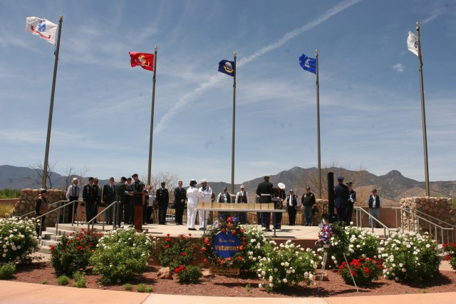 Eighteen fallen veterans from Pima and Cochise Counties were honored and given a proper burial Monday at the Southern Arizona Veterans' Memorial Cemetery in Sierra Vista.
