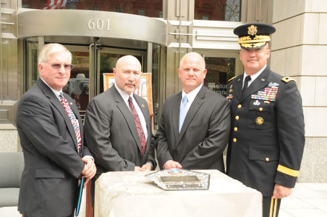 FBI Washington Field Office Receives Pentagon Stone Commemorating