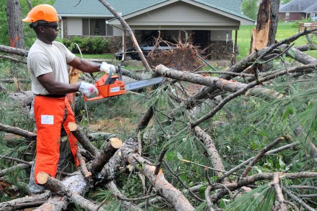 Arkansas Tornado Recovery