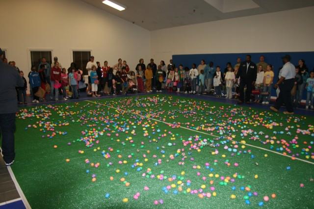 Rain doesn't stop Picerne Easter Egg Hunt