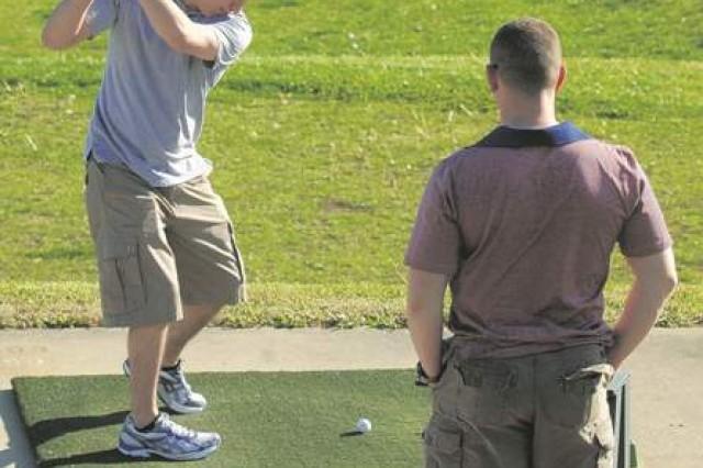 Golf club serves both military and civilian communities
