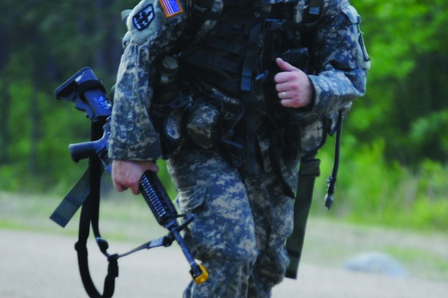Fort Polk Soldiers battle for Expert Infantryman's Badge