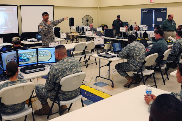Army North exercises hurricane response capacity