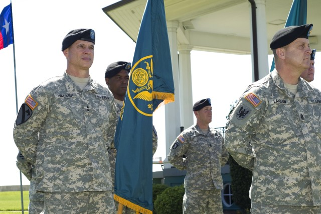 Gen. Cone's Promotion and Command Assumption Ceremonies