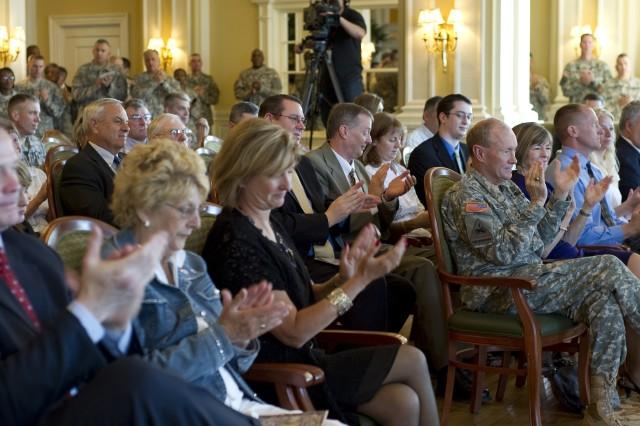 Gen. Cone's Promotion and Command Assumption Ceremonies