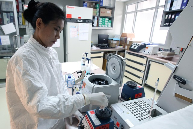 The U.S. Military HIV Research Program works closely with the Armed Forces Research Institute of Medical Sciences in Bangkok, Thailand.