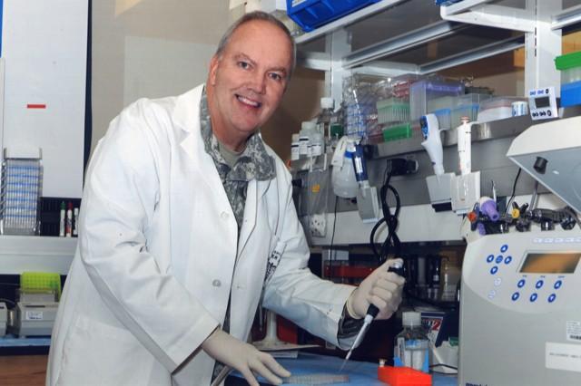 Col. Chris Ockenhouse is the program director for the Military Malaria Vaccine Program.