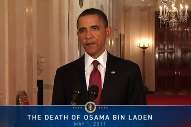 Obama announces death of bin Laden