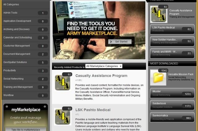 U.S. Army Marketplace