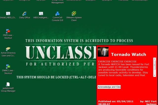 Alert system gets upgrade