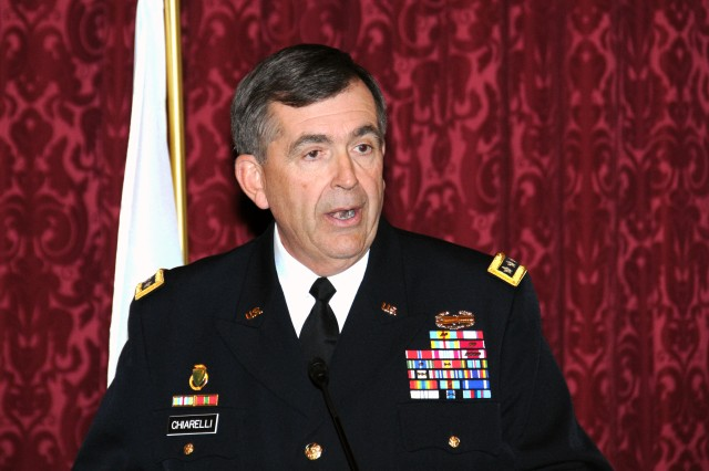 Army Vice Chief of Staff Gen. Peter W. Chiarelli is seen here speaking at an event in March. He recently received the Hero of Medicine Award from the Henry M. Jackson Foundation for the Advancement of Military Medicine.