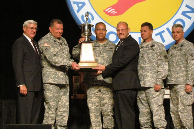 James Kelton Receives The Department Of The Army Civilian Of The Year Award