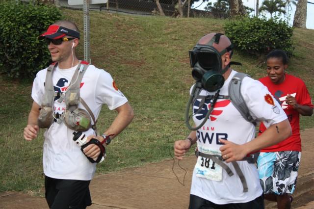 gas mask runner