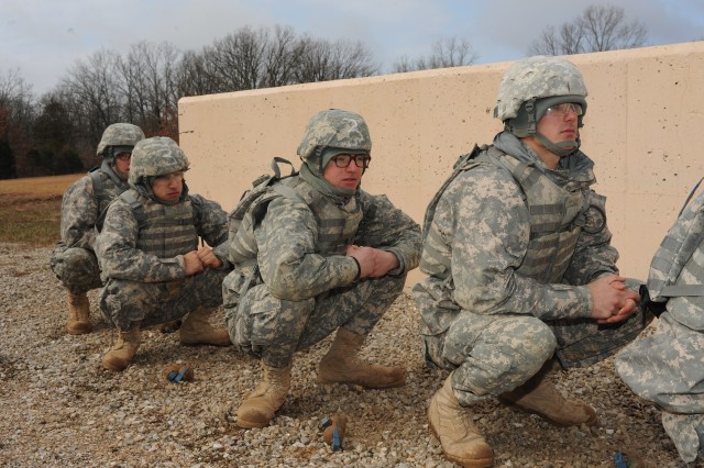 35th Engineering Battalion, Charlie Company, spent a day learning to safely and effectively deploy hand grenades